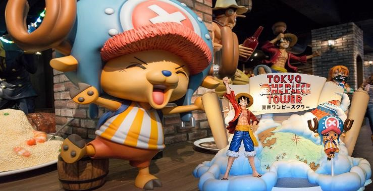 One Stop Transfer: Tokyo City to Tokyo One Piece Tower
