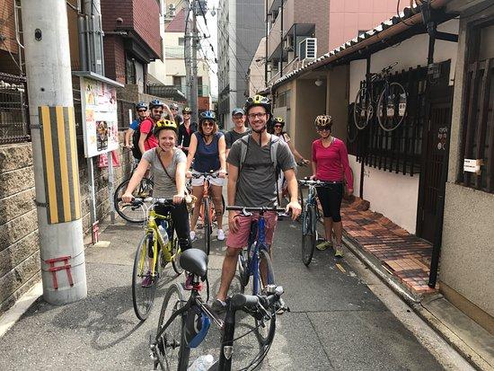 Optional SIC [From Kyoto] (1) Fushimi Inari Taisha Shrine and Sake Tasting Tour   (2) Real Kyoto Back Street Guided Cycling Tour