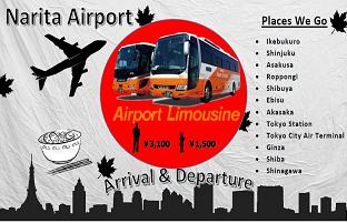 Narita TCAT.Airport Limousine Bus + Shared Transfer ( Cherry Tomato )