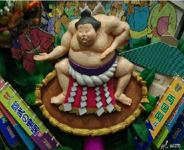 (1) Tokyo Sumo Tournament   (2) Early Morning Sumo Practice Viewing and Chanko Hot Pot Lunch Tour