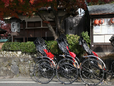Sightseeing by Rickshaw & Foot Bath Experience with Foot Massage Plan in Arashiyama, Kyoto *ALInoBABY