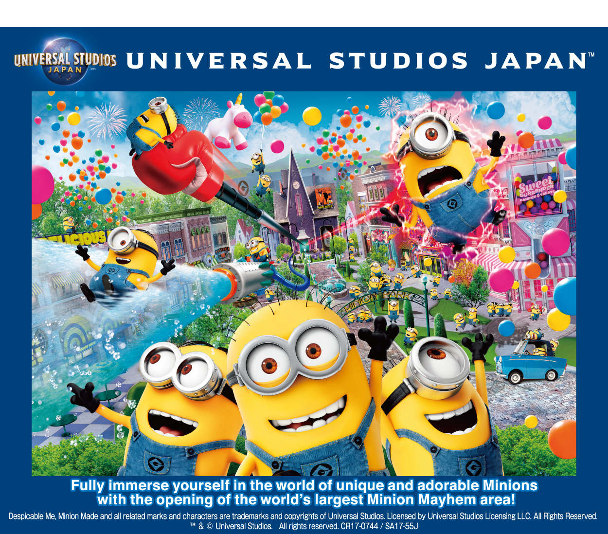 Itami Airport to Universal Studio Japan Shared Transfer ( Cherry Tomato )