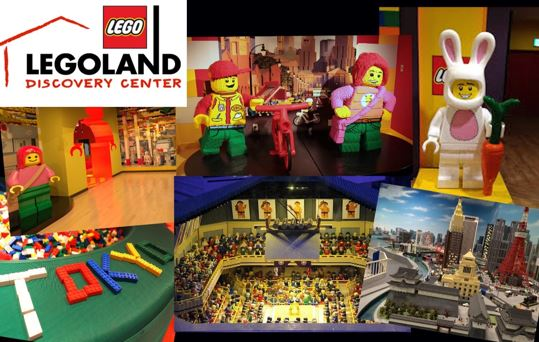 (1) LEGOLAND Discovery Center Osaka Discounted Admission Ticket with Original Pop Badge