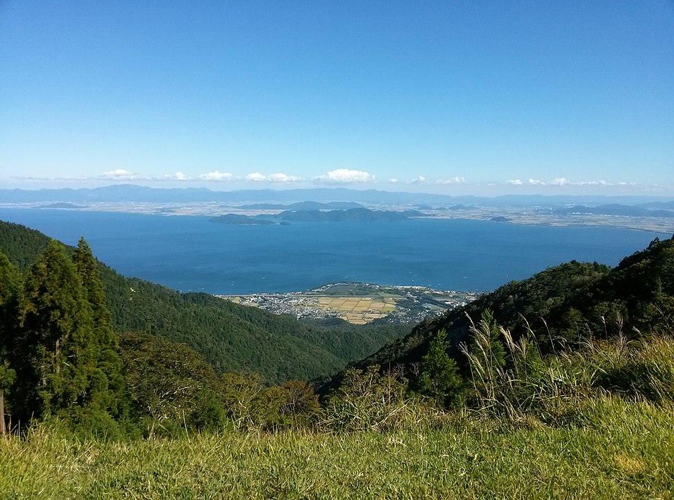 Shiga.Lake Biwako