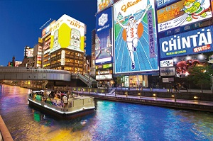 Osaka Half Day Drive Cruising City Tour *DAISUKI