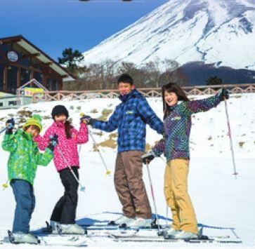 1-Day Family Skiing Trip to Mt. Fuji Area via Shinkansen (Round Trip from Tokyo) [From Tokyo]