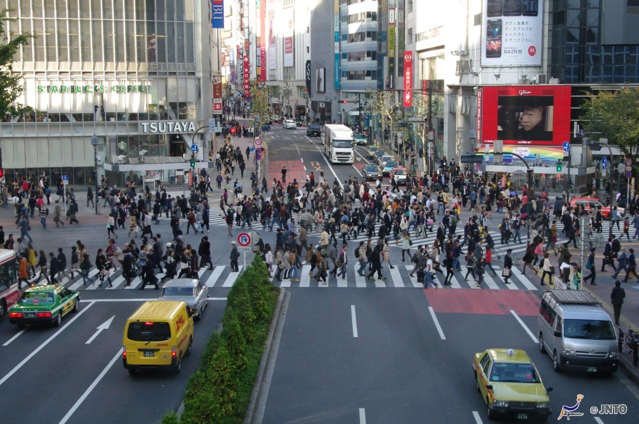 Shibuya Scramble Crossing *1shortTrip*.Tokyo