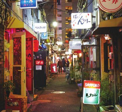 Shinjuku Golden Gai Bar-hopping Drink Ticket Plan *ALInoBABY