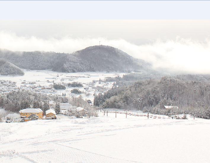 Hyogo Prefecture . Kannabe Snow Resort