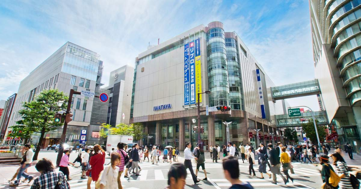 Fukuoka Tenjin Shopping District with Round Trip Cherry Tomato SIC Door to Door Transfer (Duration: approx. 05-06Hrs) **ALInoBABY**