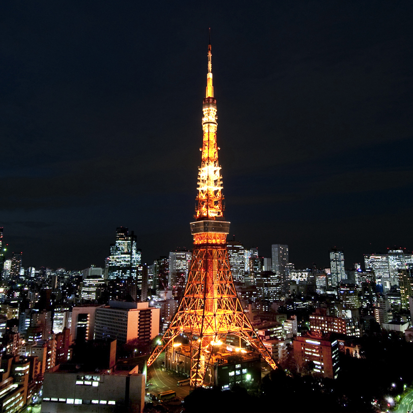 Tokyo Tower + Main deck 150m admission Ticket with Round Trip Cherry Tomato SIC Door to Door Transfer ( Duration: approx.03-04Hrs) **ALInoBABY**