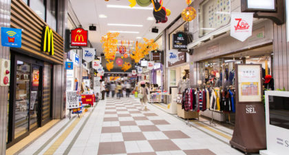 Shintencho shopping district with Round Trip Cherry Tomato SIC Door to Door Transfer (Duration: approx. 04-05 Hrs)  **ALInoBABY**